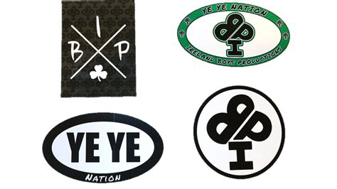 4 Pack Of Ireland Boys Productions Stickers