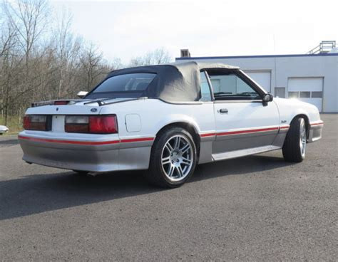fox body convertible stunning  sale ford mustang