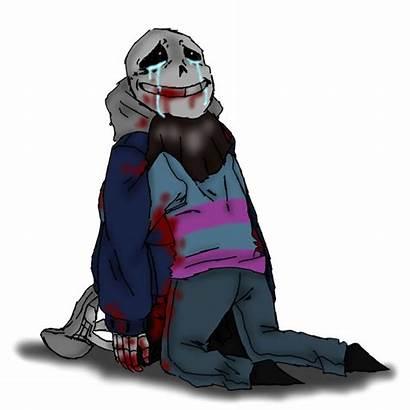 Undertale Dead Deviantart Death Menangis Crying Gambar