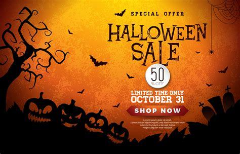 Halloween Sale banner illustration - Download Free Vectors ...