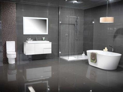 Bathroom Gray Color Schemes by Modern Bathroom Colors Grey Tiles White Floating Vanity