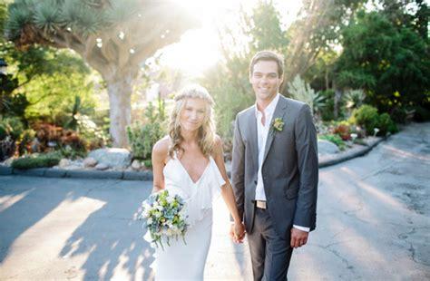 a boho garden wedding in san diego tim green