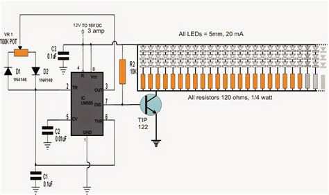 led light dimmer using pwm easy circuits