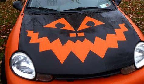 festive gourd car decorations pumpkin carving designs
