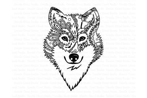 Works perfectly with your cricut or silhouette to make a fun craft project. Wolf SVG, Wolf Head SVG, Wolf Mandala SVG , Wolf Clipart.