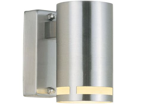 nordlux can maxi 28809929 stainless steel wall light