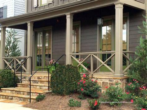 Front Porch Handrail Designs