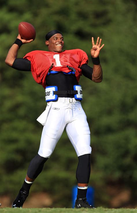 cam newton  carolina panthers training camp