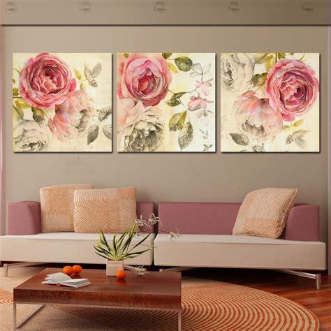 Aliexpressm  Buy 3 Piece Classical Canvas Art Rose