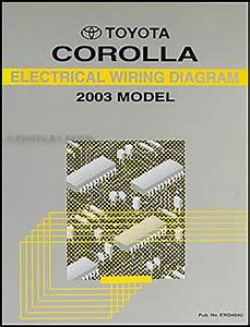 2003 Toyota Corolla Repair Shop Manual 2