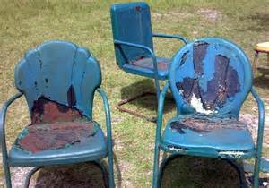 how to restore metal lawn chairs waste as a way of