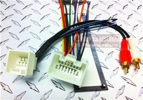 2004 Ford Mustang Radio Wiring by Radio Wire Harness W Mach 1000 Premium Stereo 98 03 Ebay