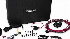 Kicker 8 U0026quot  150w Hideaway Powered Subwoofer Enclosure