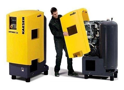 kaeser airtower rotary screw compressor packaged system