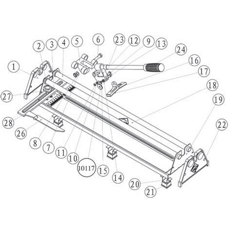 Qep Tile Cutter Spares by 10220q Qep Tile Cutter Repair Parts Qepparts