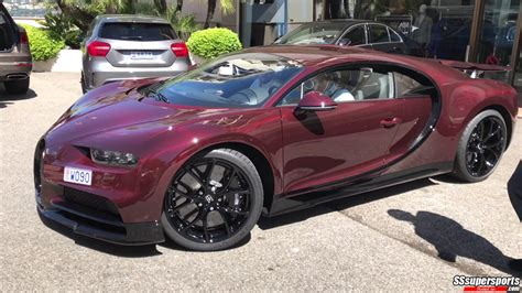 1276 x 750 jpeg 87 кб. Awesome Carbon Red Bugatti Chiron Spotted in Monaco - SSsupersports.com