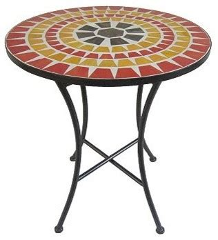 sonoma outdoors mosaic bistro table eclectic garden