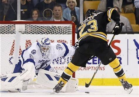 Patrice Bergeron scores insurance goal as Boston Bruins ...