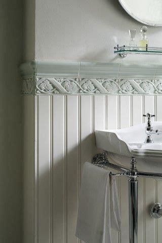 Beadboard And Tile by Boiserie Ceramic Beadboard A New House Master Bath