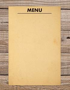 36 blank menu templates free sample example format for Empty menu templates