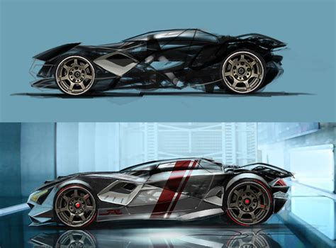 futuristic cars drawings future drift by futureelements on deviantart