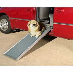 solvit deluxe telescoping dog ramp With side door dog ramp