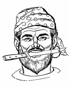 Pirate, Coloring, Pages