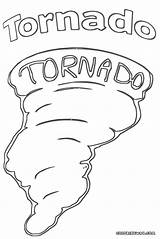 Tornado Coloring Pages Drawing Template Getdrawings Sketch Colorings sketch template