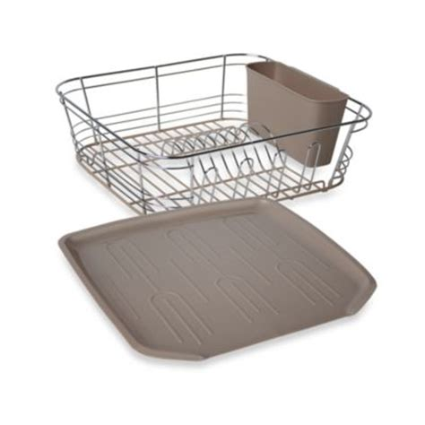 small sink dish rack buy small sink dish drainer from bed bath beyond