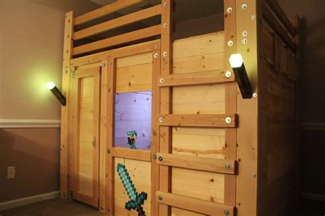 themed beds minecraft themed room palmetto bunk beds