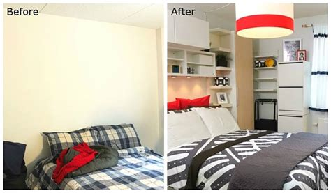 See Ikea's Smart Makeover Of This 300-sq-ft Bronx Studio Apartment Before And After Comparison New Jersey City Apartments Orleans Apartment Buildings Sutton Place Nyc For Sale Modern Bathroom The Sims 3 Eli Manning Hoboken Living Room Ideas Texas Tech On Campus