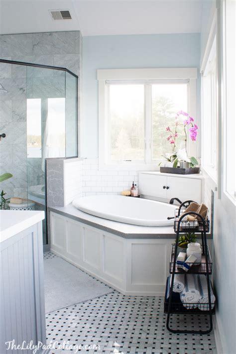 Master Bathroom Reveal  Parent's Edition  The Lilypad