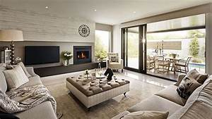 Visualization For Family House With Cream Color Interior In Greenvale  Australia