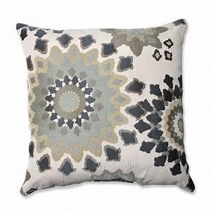 Shop Pillow Perfect 18-in W x 18-in L Marais English