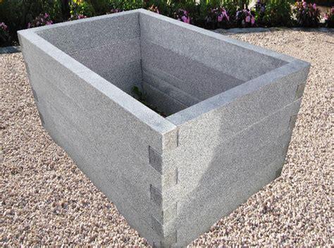 Beton Bausatz by Granit Anthrazit Beetelemente N 214 Hmer Beton Kies Splitt