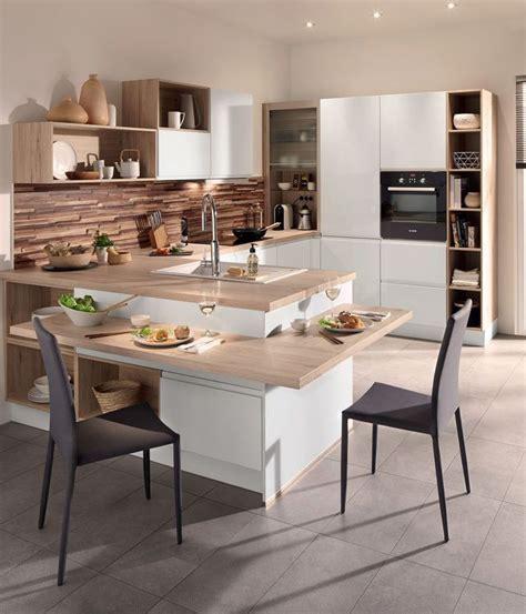 table centrale cuisine cuisine avec îlot central des modèles de cuisines avec