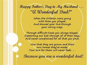 Father's Day Messages For My Husband | Happy Father's Day ...