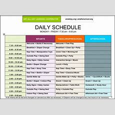 Pictures Of Preschool Daily Routines  Arts Afterschool  Schedule And Supplies  Time Table Kcc