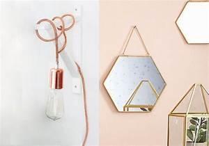 Miroir Cuivre Rose : d co cuivre ou d co laiton joli place ~ Melissatoandfro.com Idées de Décoration