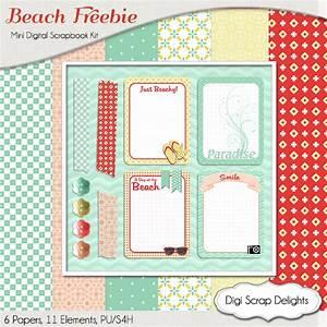 Digital Scrapbook Color Challenge & FREEBIES Hop ...