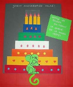Fabriquer Carte Anniversaire : carte d anniversaire a fabriquer ~ Melissatoandfro.com Idées de Décoration