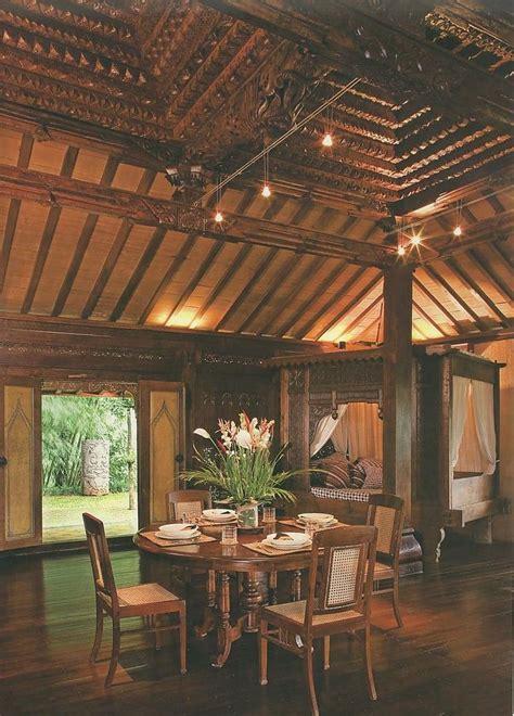 home interior design joglo home modern javanese rumah