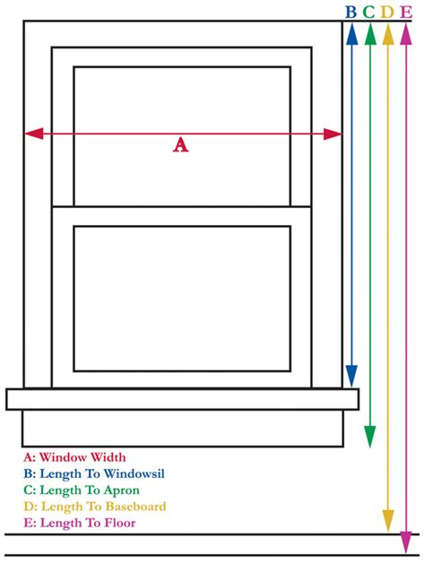 how to measure window treatments curtain bath outlet