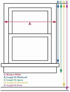 How to measure window treatments curtain bath outlet for Bathroom window height from floor