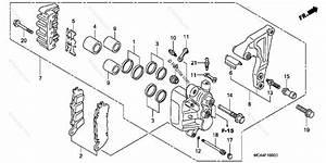 Honda Motorcycle 2001 Oem Parts Diagram For Rear Brake