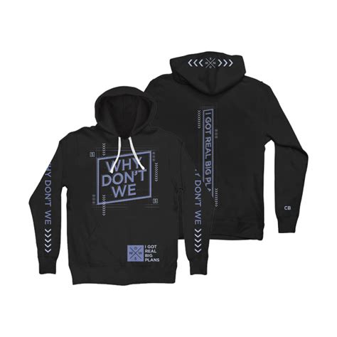 big plans hoodie  dont