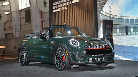 2017 Mini Jcw by 2017 Mini Cooper Works Convertible Revealed At New