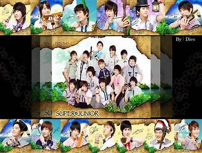 Junior Super Sj Korean Suju Kid Wallpapers