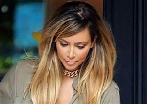 Tie And Dye Blond Cendré : coiffure tie and dye kim kardashian ~ Melissatoandfro.com Idées de Décoration