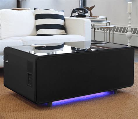 Sobro coffee table with fridge barkeaterlake com. Sobro Smart Coffee Table Review | Decoration Jacques Garcia